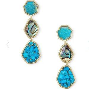 Kendra Scott Nina Linear Drop Clip-On Earrings
